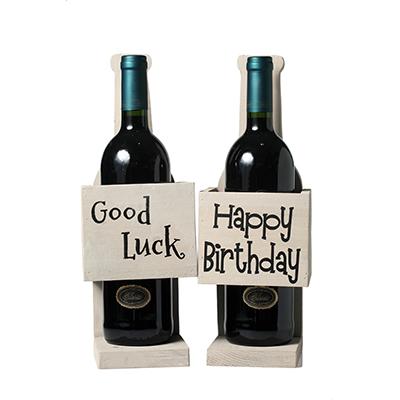 Wooden Wine Gift Standers